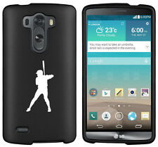 For LG G2 G3 / G3 Vigor Snap On 2 Piece Rubber Hard Case Cover Baseball Player