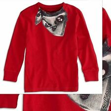 NWT 77Kids by American Eagle Boys Size 5 Years 5T Long Sleeve Graphic Tee Shirt