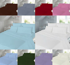 Duvet Cover Quilt 180 Thread Count Percale Pillow case size, Single, King Double