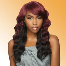 Sensationnel Synthetic Full Cap Wig Totally Instant Weave 2 In 1 - LAVENDER