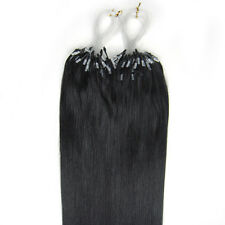 """16"""" Indiano Remy Premier Loop Micro Ring 100% Extension Veri Capelli AAA* UK"""