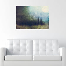 Surreal Nature Art Decal - Full Moon by DejaReve