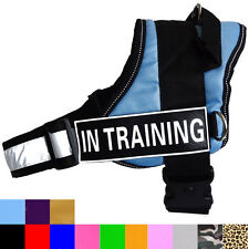 Service Dog Vest Harness Large IN TRAINING THERAPY SECURITY THERAPY DOG Velcros