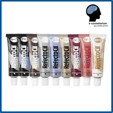 3 x RefectoCil HENNA TINT for Eyebrows and Eyelashes in gel 15ml Many Colors
