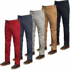 New Hommes Designer Mavi Slim Skinny Chino Pantalon coupe droite pantalon bottoms