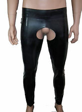 mens latex rubber chaps with zips, fetish, gummi,bdsm, gay interest