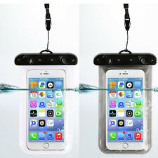Transparent Waterproof Underwater Pouch Bag Dry Case Cover For Mobile Phone ipod