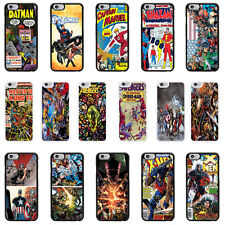 DC Marvel Comic book cover case for Apple iPhone - T6