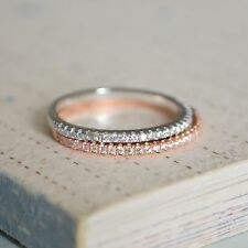 Brand New 925 Sterling Silver Cubic Zirconia Ring