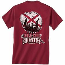 Alabama Crimson Tide Unisex T-shirt - Roll Tide Country - Cotton Boll Tee