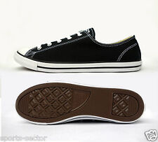 Converse Chuck Taylor All Star Dainty Ox Womens Trainers Shoes - Black