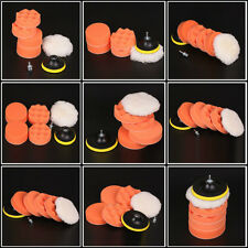 "6Pcs High Gross 3""/4""/5""/6""/7"" Buff Polishing Pad For Car Polisher -Select Sets"