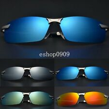New Polarized Driving Outdoor Sports Aviator Mirror Sunglasses Eyewear Glasses