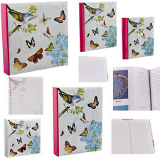 """Vintage Butterfly Photo Album 200 4x6"""" /5x7"""" 500 4x6"""" Photos or Self Adhesive"""