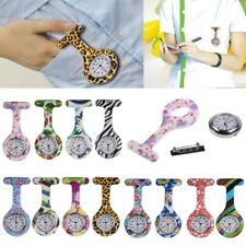 Silicone Nurse Doctor Brooch Tunic Fob Watch Nursing Nurses Pendant Pocket Watch