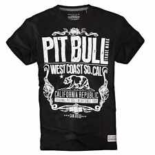 T-shirt Cal Republic - Pit Bull West Coast