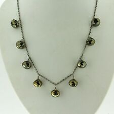 """Chan Luu Mystic Brown Spinel Short Necklace 17"""" Retails for $175 NS-9387"""