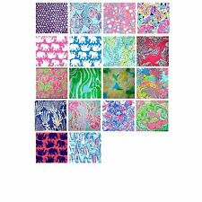 Lilly Pulitzer Fabric Squares- You Pick Size