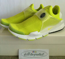 NIKE SOCK DART NEON YELLOW Sz UK US 8 9 10 11 SP VOLT 686058-771 Fragment 2015