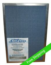 Electrostatic Air Furnace Filter silver metal frame, permanent and  washable