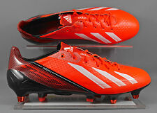 New Mens Adidas ADIZERO F50 XTRX SG Soccer Cleats Sz 13 Infrared Q33857