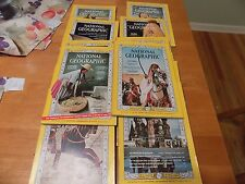 National Geographic Magazine 1966 Complete Year 12 issues