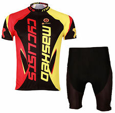 Cycling Jersey Cycle Shirt Bicycle Jersey Cyclist Suit & Short Set MIX-S04