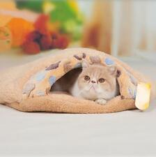 Winter Warm Pet Cat Kitten Cave Bed House Kennel Puppy Dog Sleeping Bed House Y2