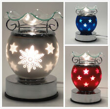 Electric Touch Lamp Fragrance Oil and Tart Wax Warmer Burner Aroma Night Light