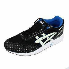 ASICS TRAINER GEL SAGA MENS BLACK SNEAKERS