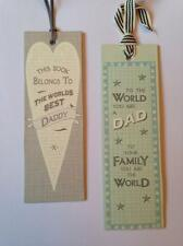 East Of India Daddies BOOKMARKS -To the world you are.. this book belong to....