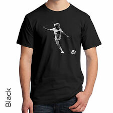 T-Shirt Bob Marley Cut Out Soccer Ball Kick Very Cool Jamaican Men's Women's 149