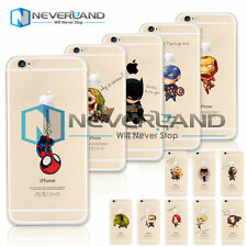 Super Hero Funda De Carcasa Case Back Cover Skin Piel Para iPhone 4/5/6 Plus