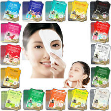 3PCS Facial Skin Care Face Korea Mask Sheet Pack Essence Collagen Moisture