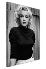 ICONIC MARILYN MONROE FASHION SHOOT FRAMED CANVAS PRINTS WALL ART PICTURES DECO
