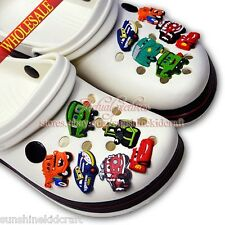 Cars 1 PVC SHOE CHARMS For croc/bracelets wristband,Shoe Ornament,Kid party gift