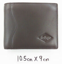 Lee Cooper Men's Genuine Leather Wallet Card Coin Zip Purse Photo Holder YLW018