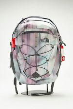 2015-16 THE NORTH FACE WOMEN'S BOREALIS BACKPACK CHK3BSF IRIDESCENT PRINT/GREY