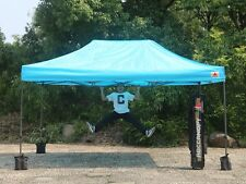AbcCanopy 10x15 Deluxe Ez Pop Up Canopy Tent Gazebo W/ Wheeled Bag 18+ Colors