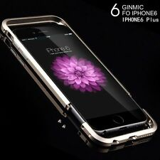 Ginmic Luxury Aluminum Ultra-thin Metal Bumper Case Cover For iPhone 6 6 Plus