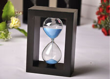 New Wooden Frame Glass 30Minutes Sand Hourglass Timer Sandglass Home Decor Gifts