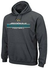 Jacksonville Jaguars Majestic Squib Kick Mens Pullover Hoodie Charcoal Big Sizes