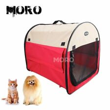 Red Portable Soft Pet Cat Dog Carrier House Puppy Kennel Tent w/Carrying Handle