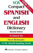 Vox Compact Spanish and English Dictionary : English-Spanish/Spanish-English by