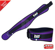 RAD™ Women's Weight Lifting Purple Belt Back Support Gym Workout Power Limiting