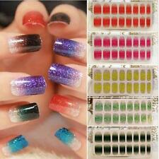 NEW 1sheet Foils Artificial Nail Stickers Decal Design Manicure Tips Wraps Decor