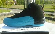 NEW NIKE AIR JORDAN RETRO XII 12 BLACK GAMMA BLUE DS Sz 14. $20 OFF.
