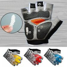2015 Cycling Gloves Top GEL Pad Shockproof Sports Bike Bicycle Half Finger Glove