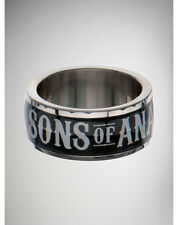 BAGUE OFFICIELLE SONS OF ANARCHY SAMCRO BLACK TAILLE 6, 7, 8, 9, 10, 11, 12, 13