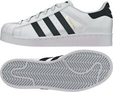 ADIDAS BOYS (GS) SUPERSTAR WHITE/BLACK STYLE# C77154